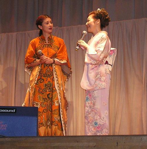 青山和子&石井苗子2